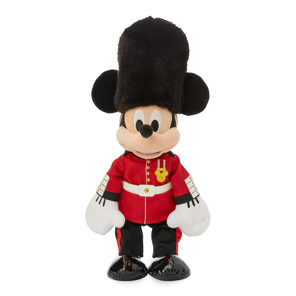 Mickey Mouse Queen's Guard Plush – United Kingdom – World Showcase – Small – 16''