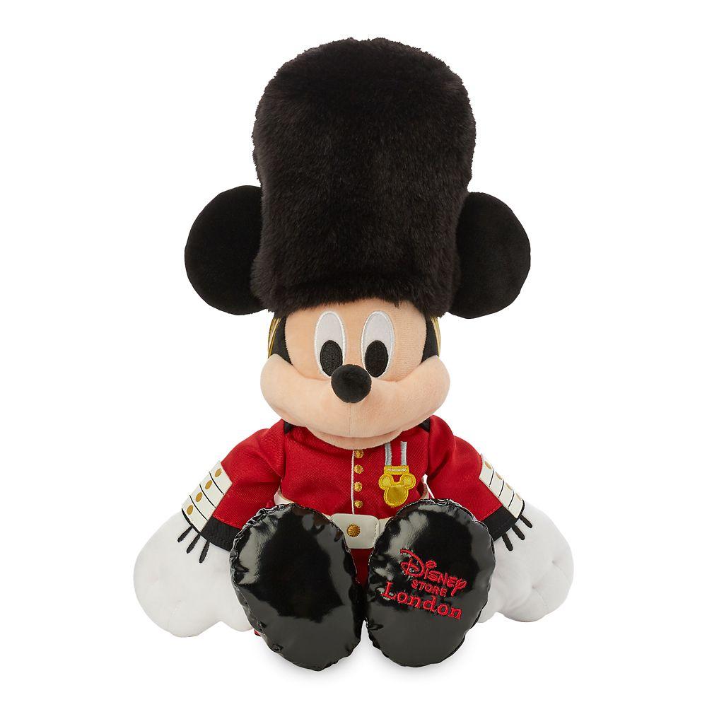 Mickey Mouse Queen's Guard Plush – United Kingdom – World Showcase – Small – 16''