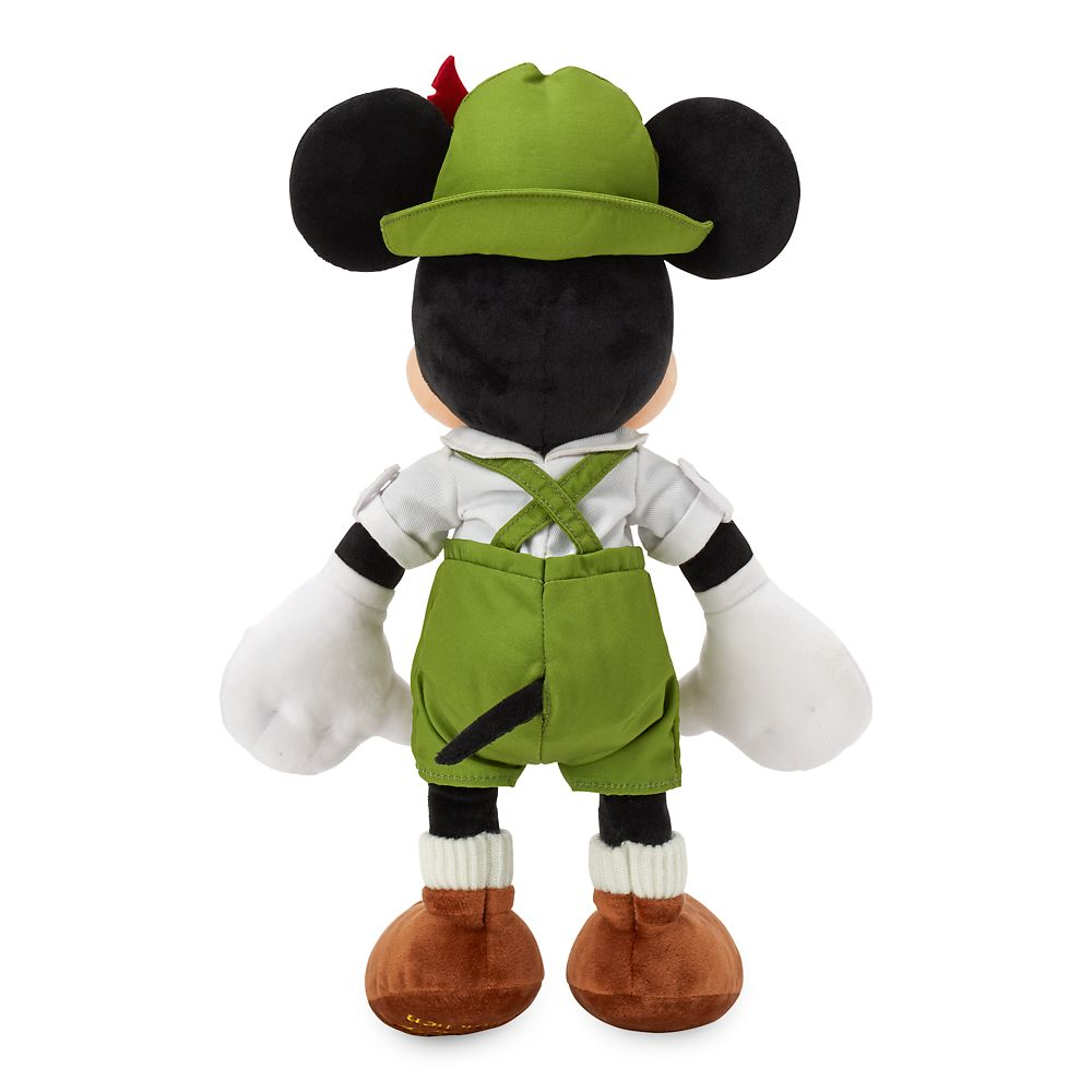 Mickey Mouse Bavarian Plush – Germany – World Showcase – Small – 13''