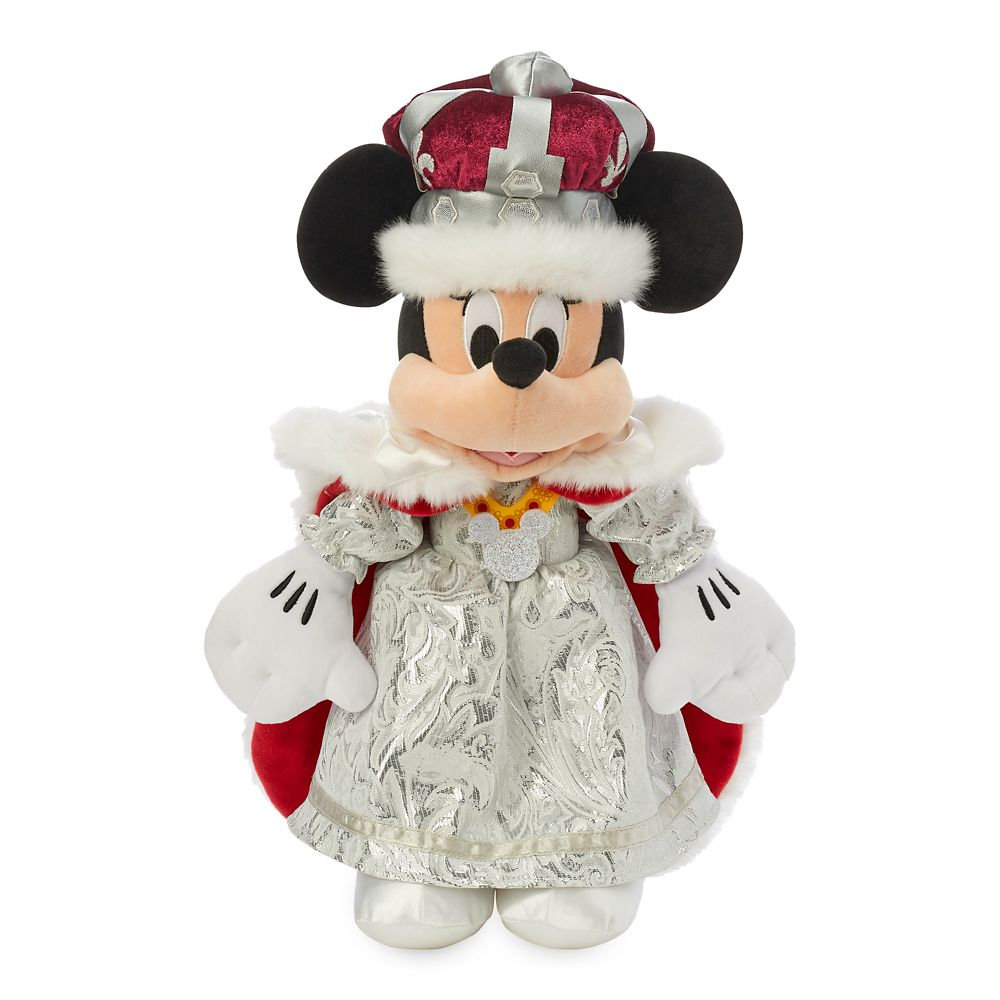 Minnie Mouse Queen Plush – United Kingdom – World Showcase – Small – 15''