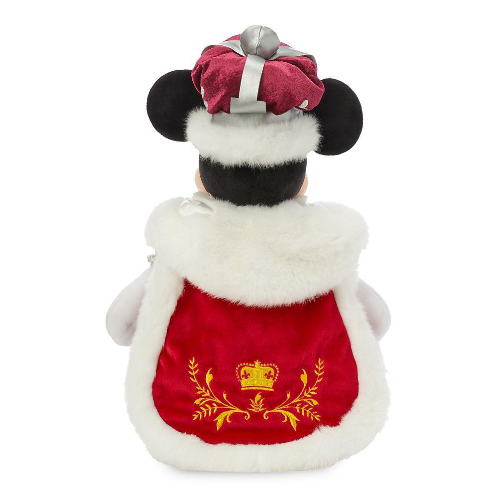 Minnie Mouse Queen Plush – United Kingdom – World Showcase – Small – 15''