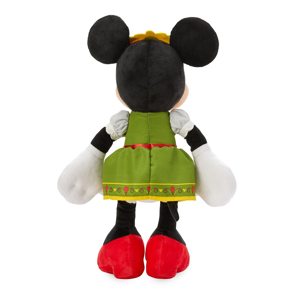 Minnie Mouse Bavarian Plush – Germany – World Showcase – Small – 13''