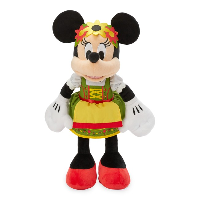 Minnie Mouse Bavarian Plush – Germany – World Showcase – Small – 13''