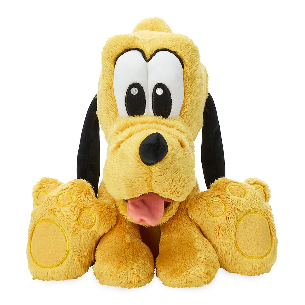 Pluto Big Feet Plush – Medium – 10''