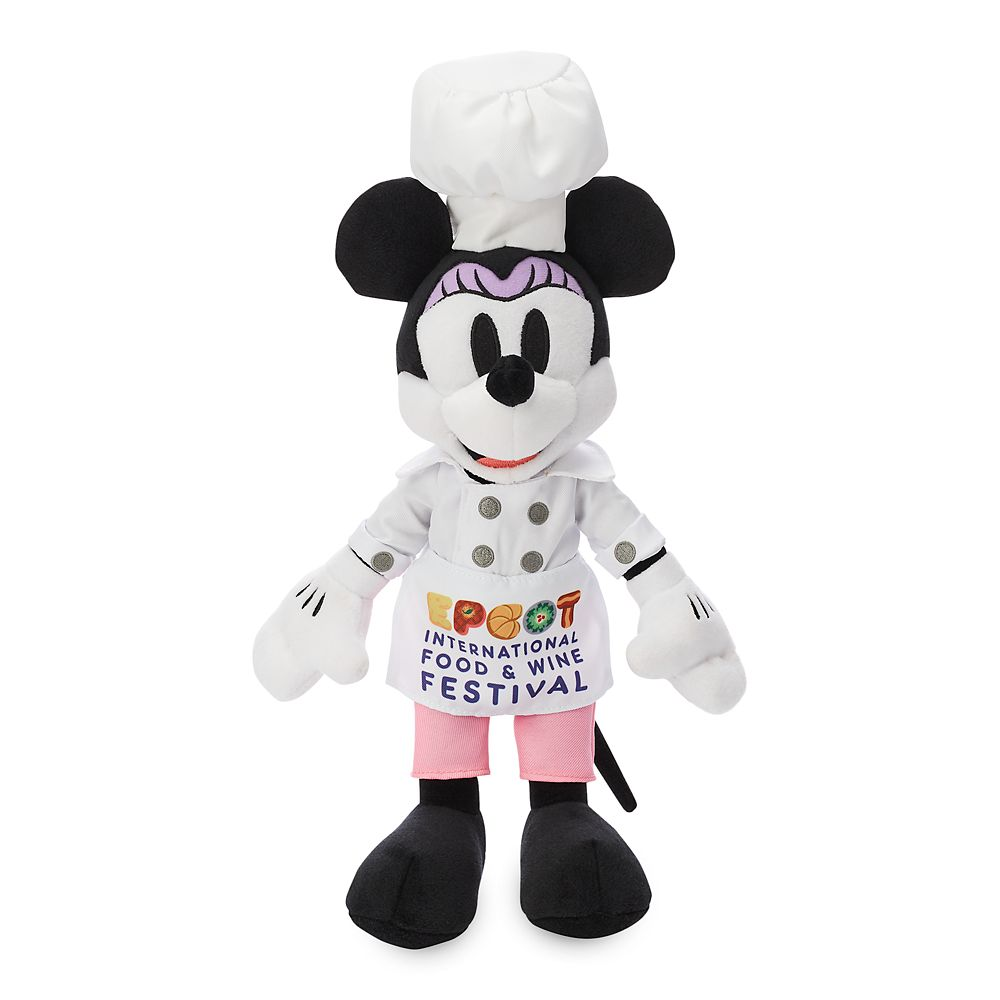 Minnie Mouse Plush  Epcot International Food & Wine Festival 2019  Small  11'' Official shopDisney