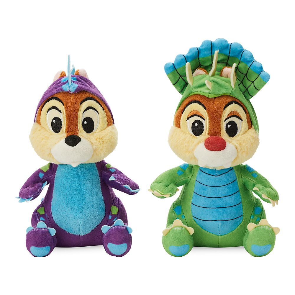 Chip 'n Dale Plush Set – Donald's Dino Bash – Small – 7''