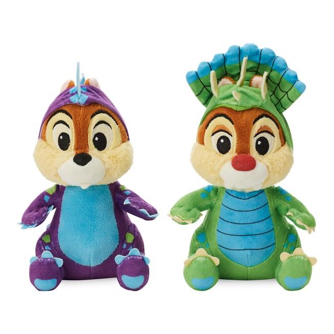 Chip 'n Dale Plush Set – Donald's Dino Bash – Small – 7''