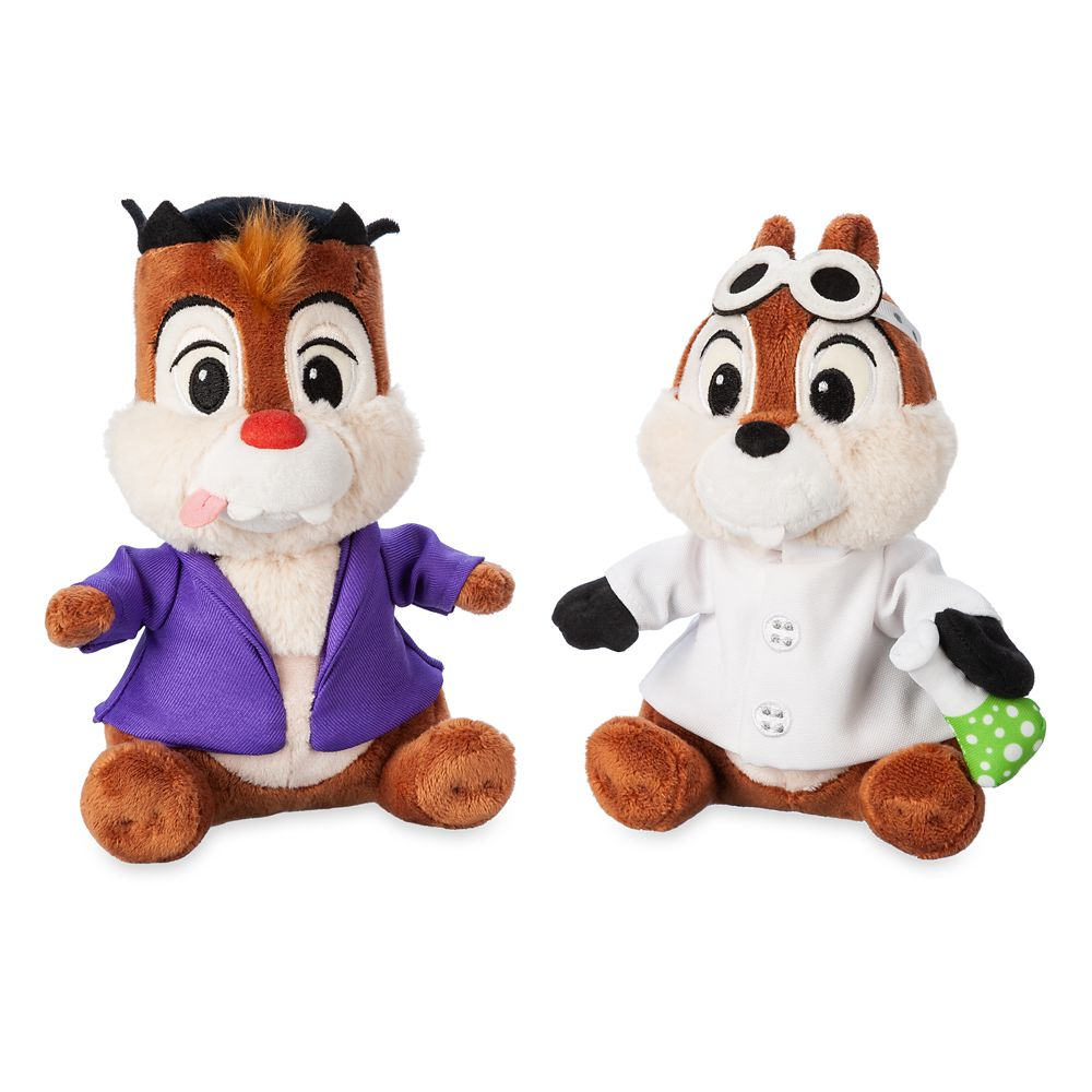 Chip 'n Dale Plush Set – Halloween – Small – 7''