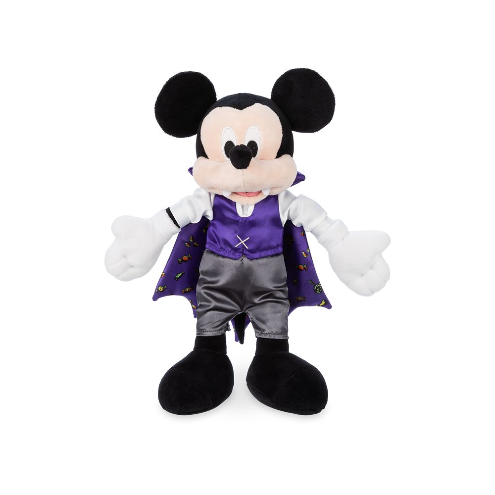 Mickey Mouse Vampire Plush – Halloween – Small – 12''