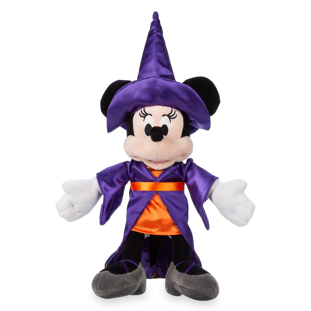 Minnie Mouse Witch Plush – Halloween – Small – 12''