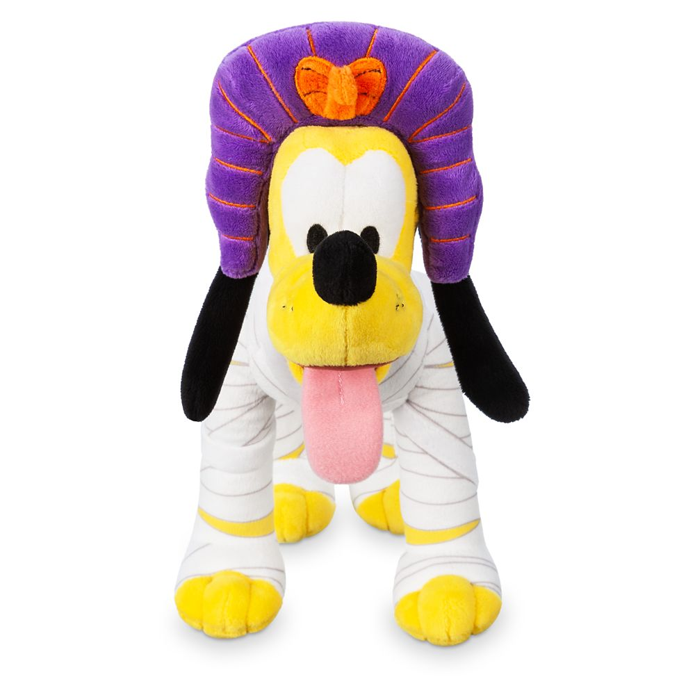 Pluto Mummy Plush – Halloween – Small – 10''