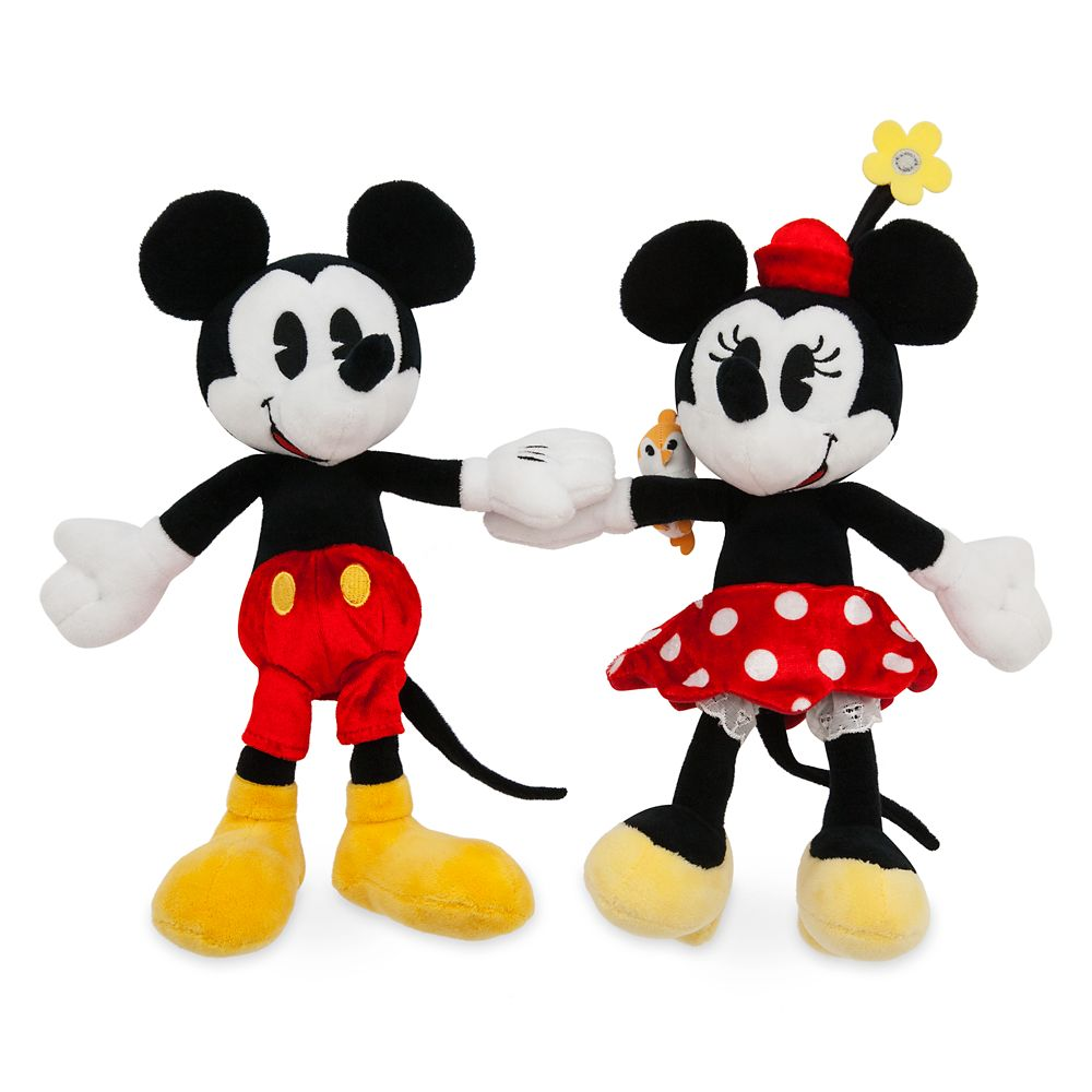 Mickey & Minnie's Runaway Railway Magnetic Plush Set