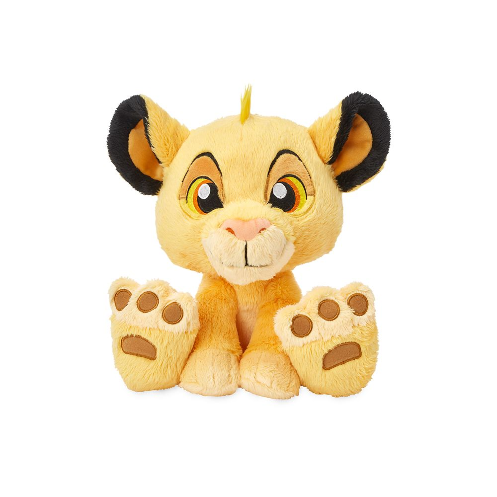 Simba Big Feet Plush – Medium – 10''