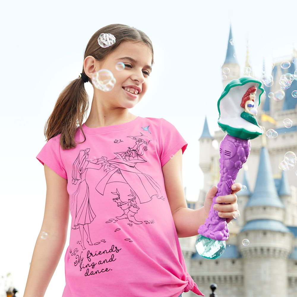 Ariel Clamshell Bubble Wand