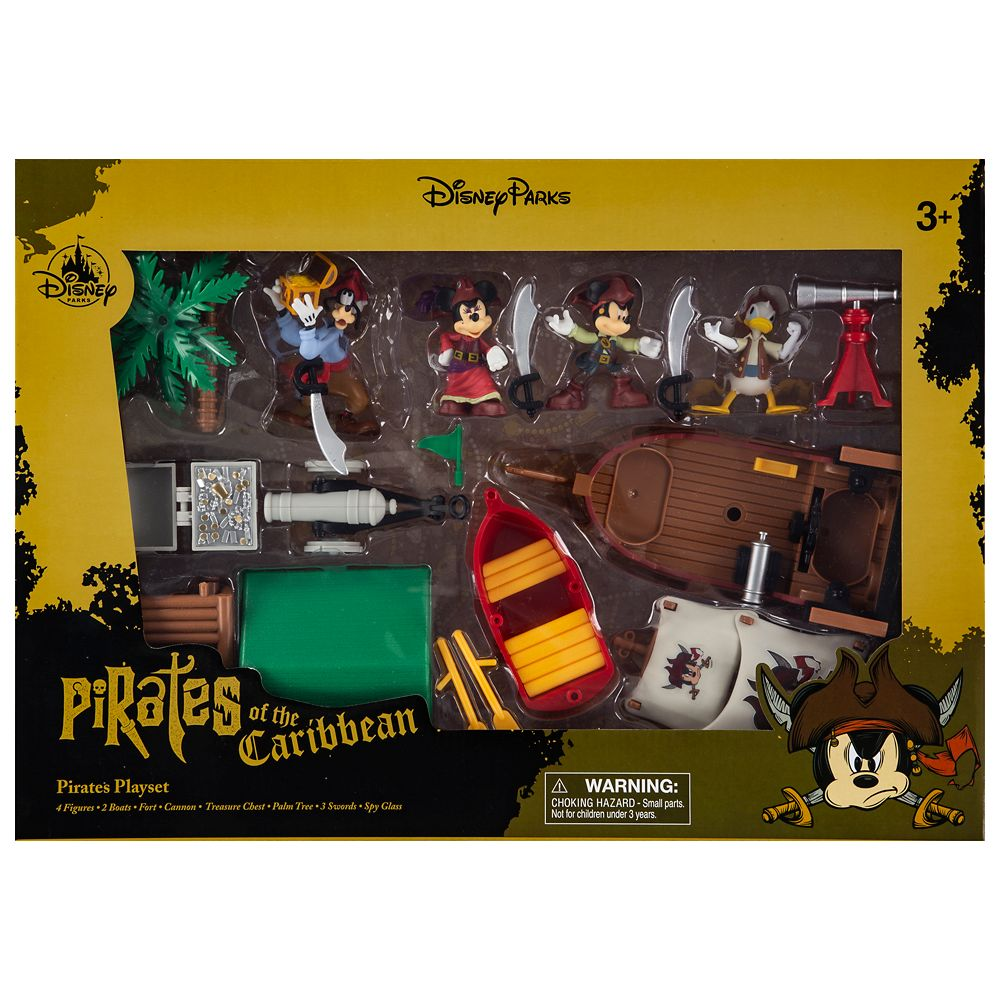 Mickey Mouse and Friends Pirates of the Caribbean Play Set