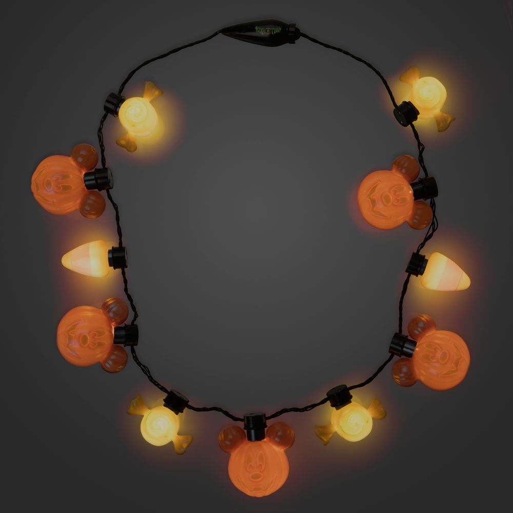 Mickey Mouse Halloween Glow Necklace