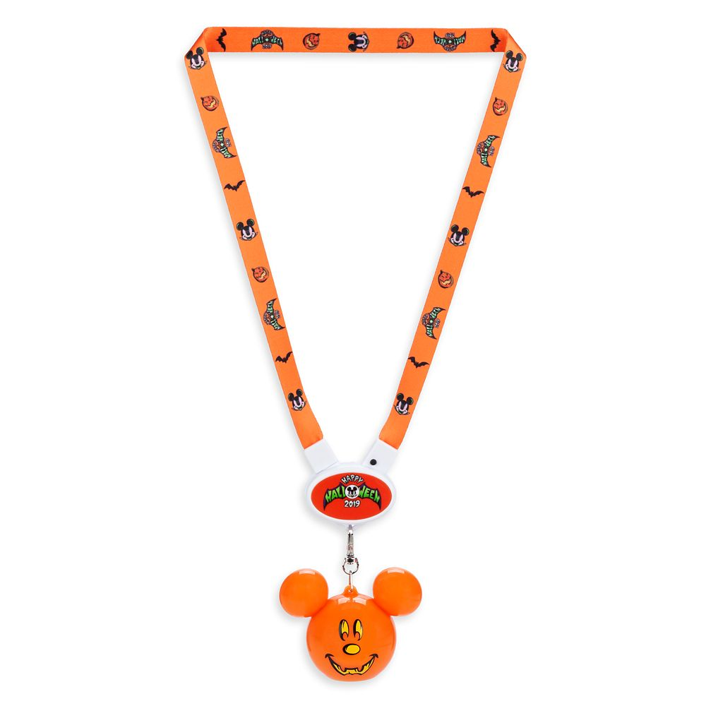 Mickey Mouse Light-Up Lanyard – Halloween 2019