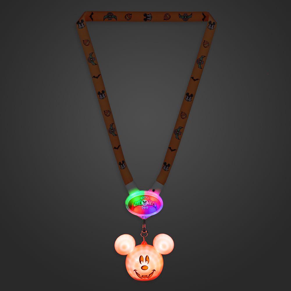 Mickey Mouse Light-Up Lanyard – Halloween 2019