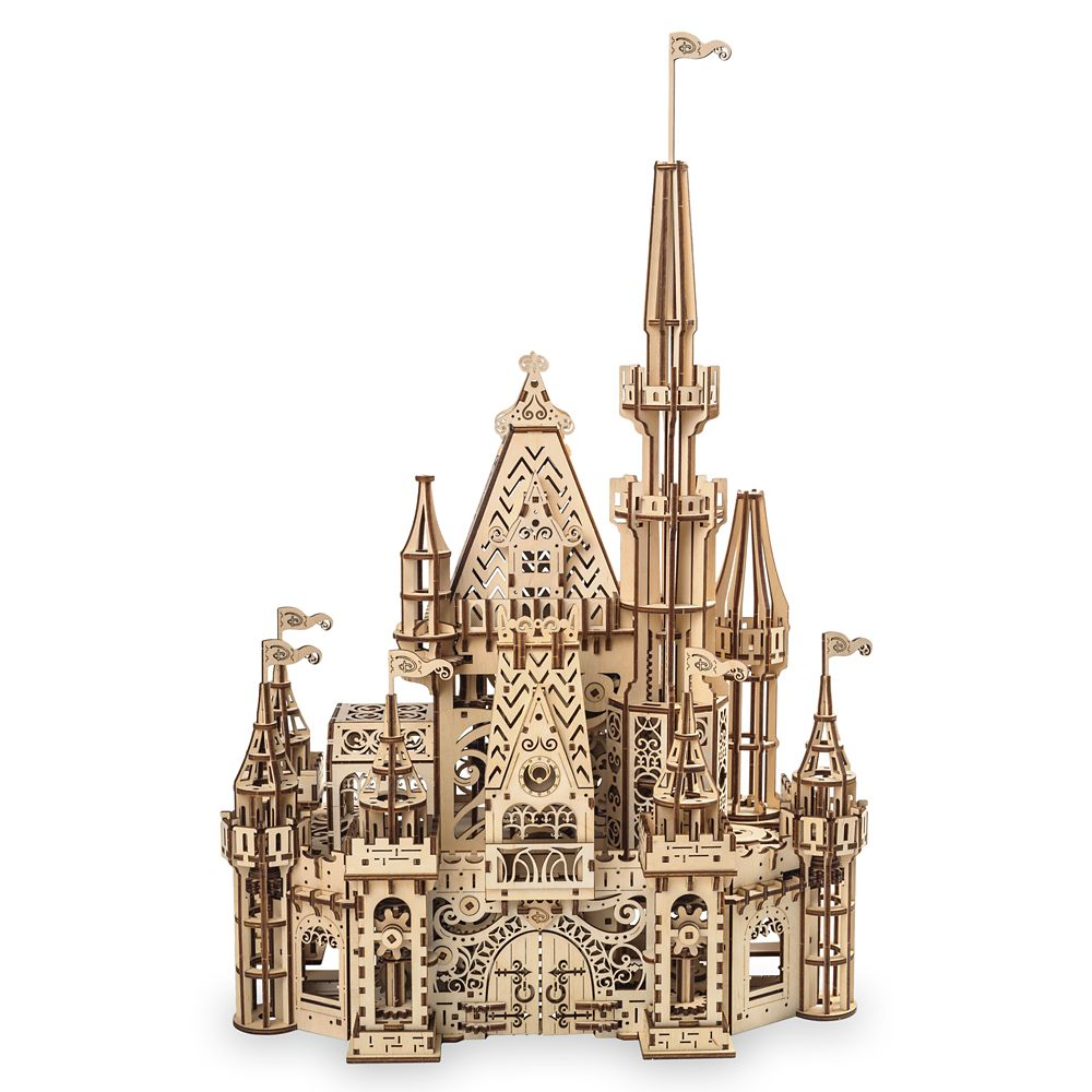 24 Unique Disney Gift Ideas featured by top US Disney blogger, Marcie and the Mouse Disney Parks Castle Wooden Puzzle by UGears