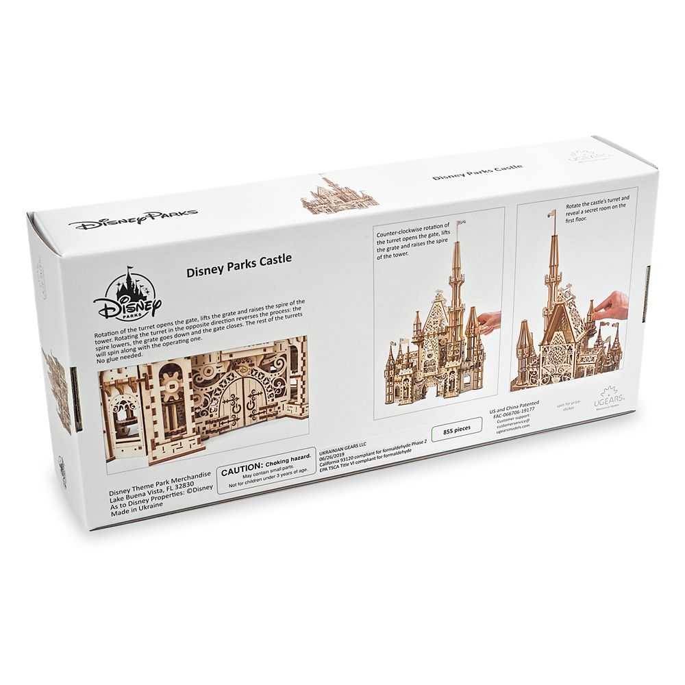 Disney Parks Castle Wooden Puzzle by UGears