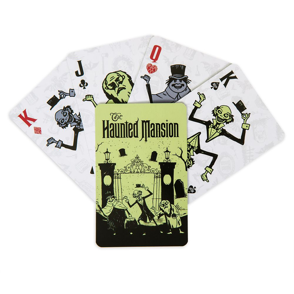 The Haunted Mansion Playing Cards