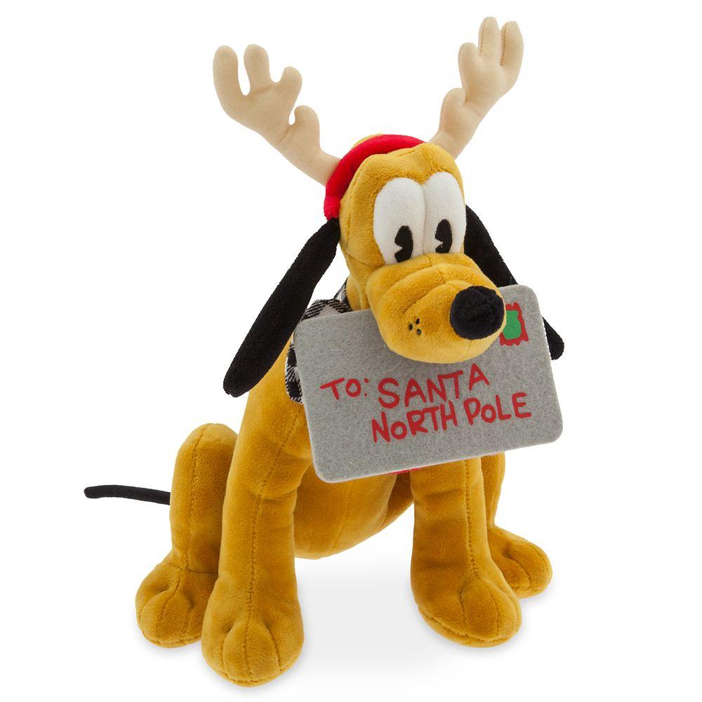 Pluto Holiday 2019 Plush – Medium – 12''