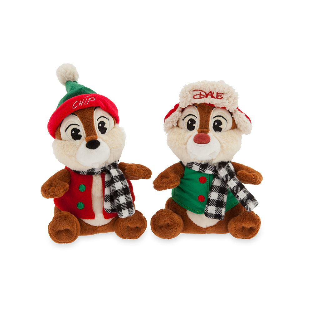 Chip 'n Dale Holiday 2019 Plush – Medium – 8''