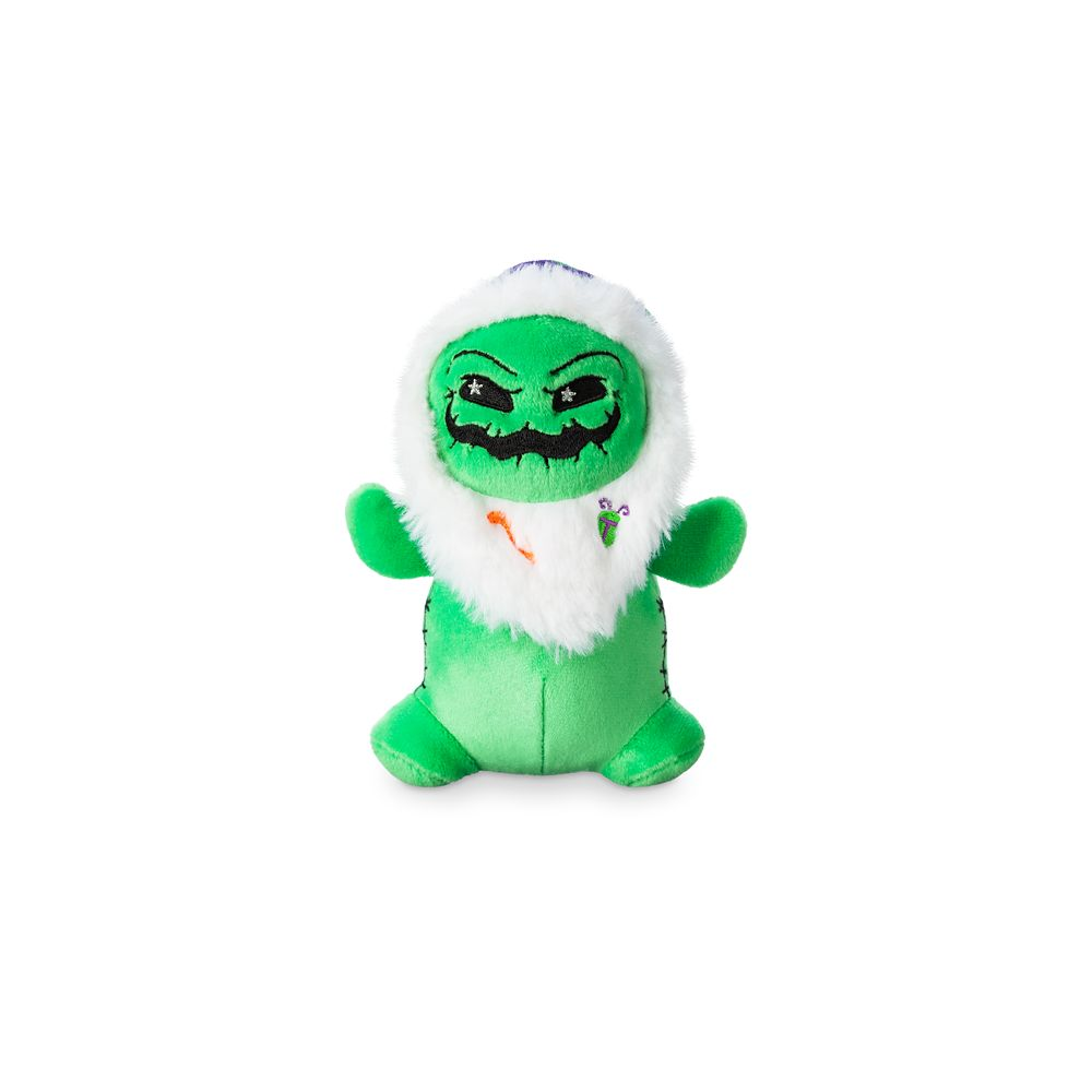 Oogie Boogie Disney Parks Wishables Plush – Haunted Mansion Holiday Series – Micro