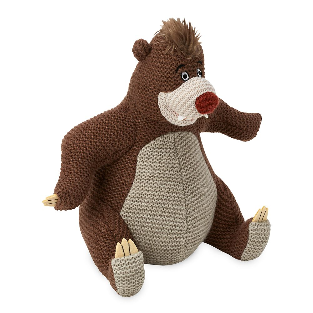 Baloo Knit Plush – The Jungle Book – Limited Release – 12''