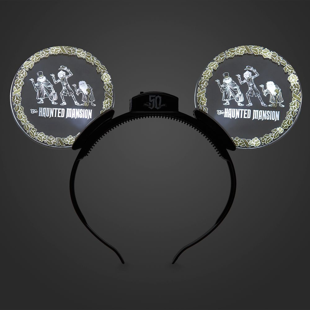 The Haunted Mansion 50th Anniversary Glow Ears Headband