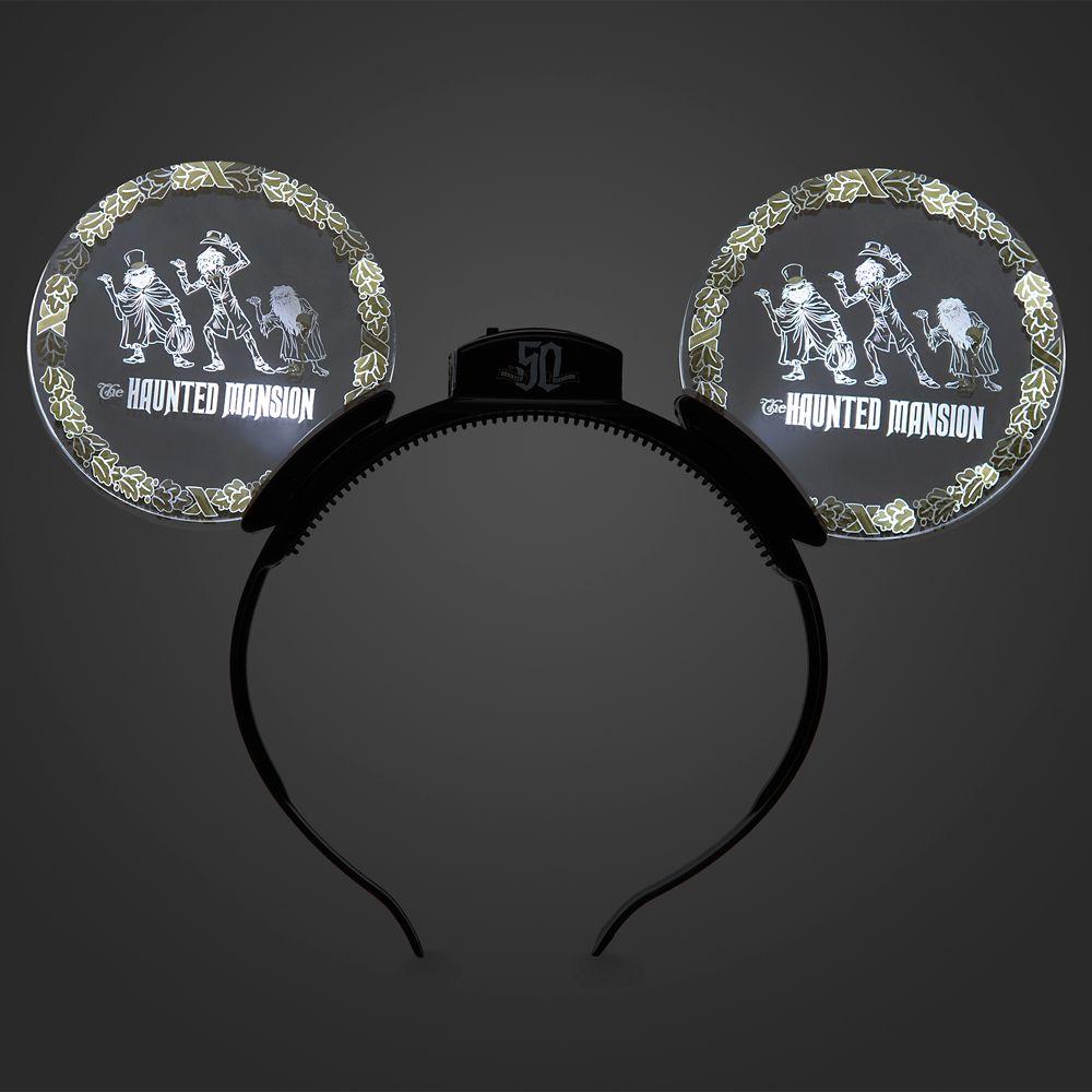 The Haunted Mansion 50th Anniversary Glow Ears Headband