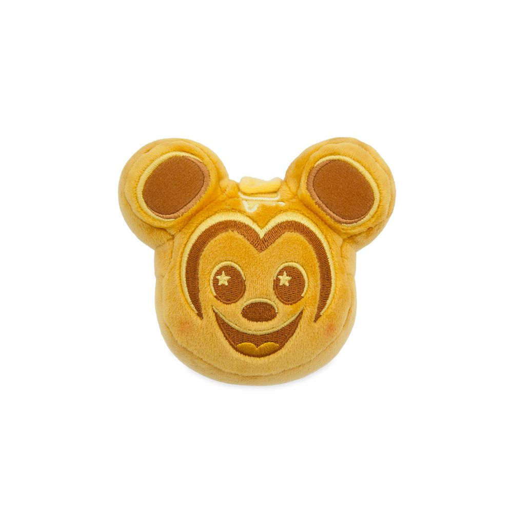 Mickey Mouse Waffle Disney Parks Wishables Plush – Parks Food Series 2 – Micro – Limited Release