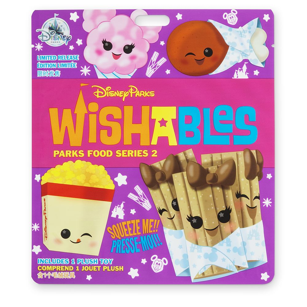 Disney Parks Wishables Mystery Plush – Parks Food Series 2 – Micro – Limited Release