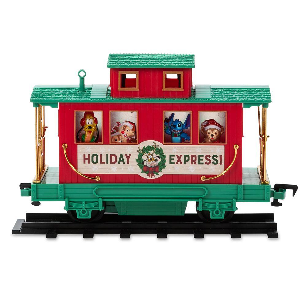 Disney Parks Christmas Train Set