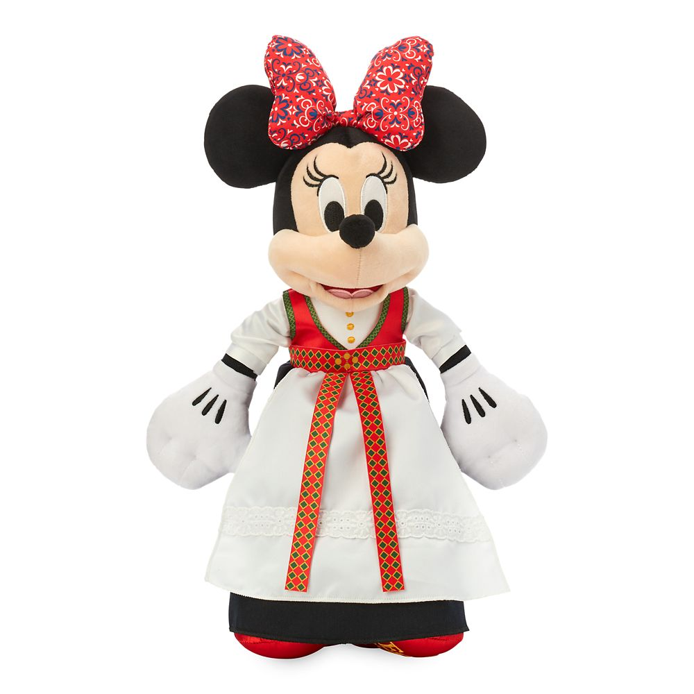 Minnie Mouse Norse Plush – Norway – World Showcase – Small – 15''