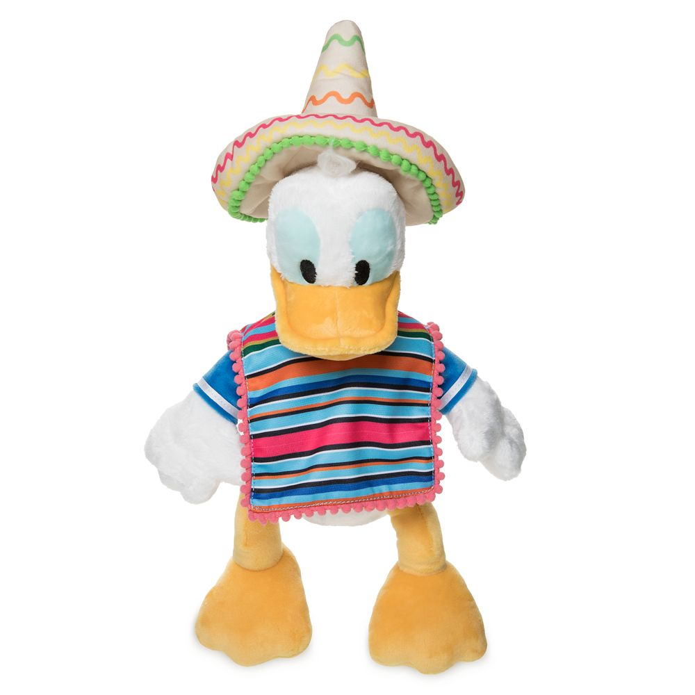 Caballero Donald Duck Plush – Mexico – World Showcase – Small – 13''