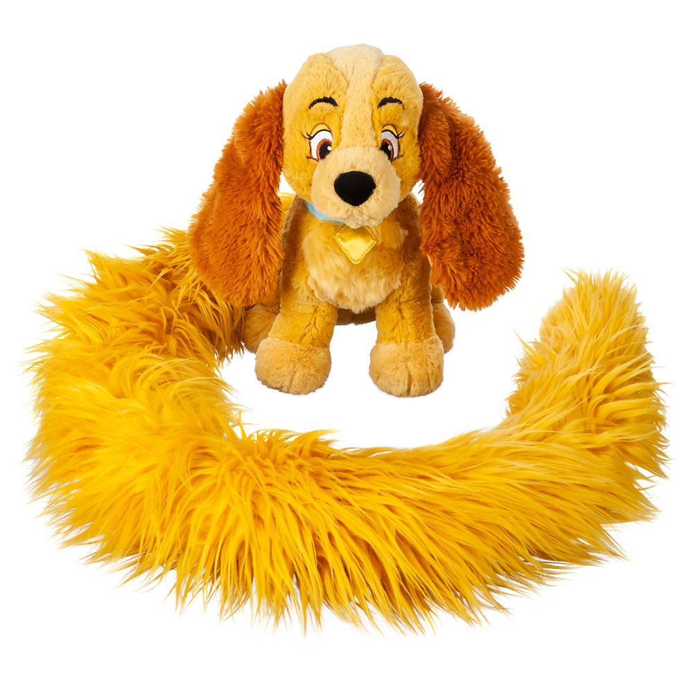 Lady Long Tail Plush – Lady and the Tramp – 12''