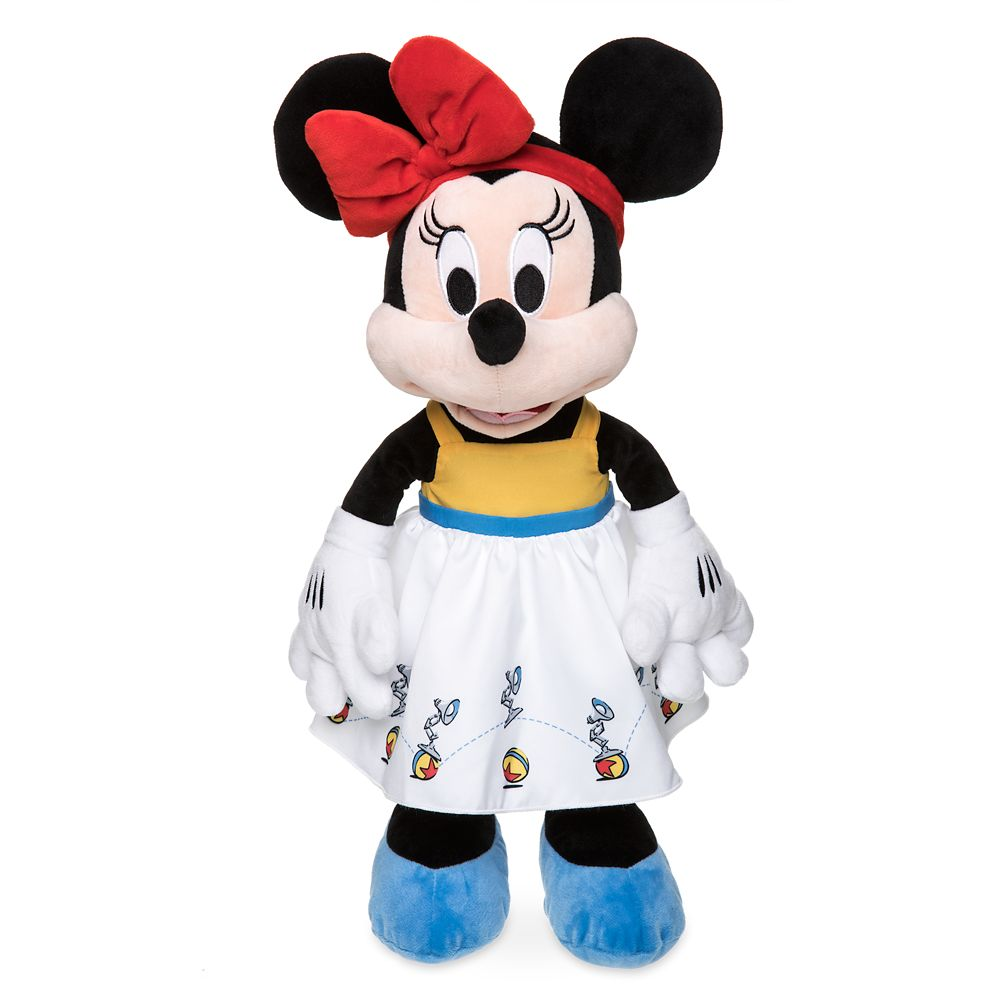 Minnie Mouse Plush in Pixar Dress – Medium – 17''