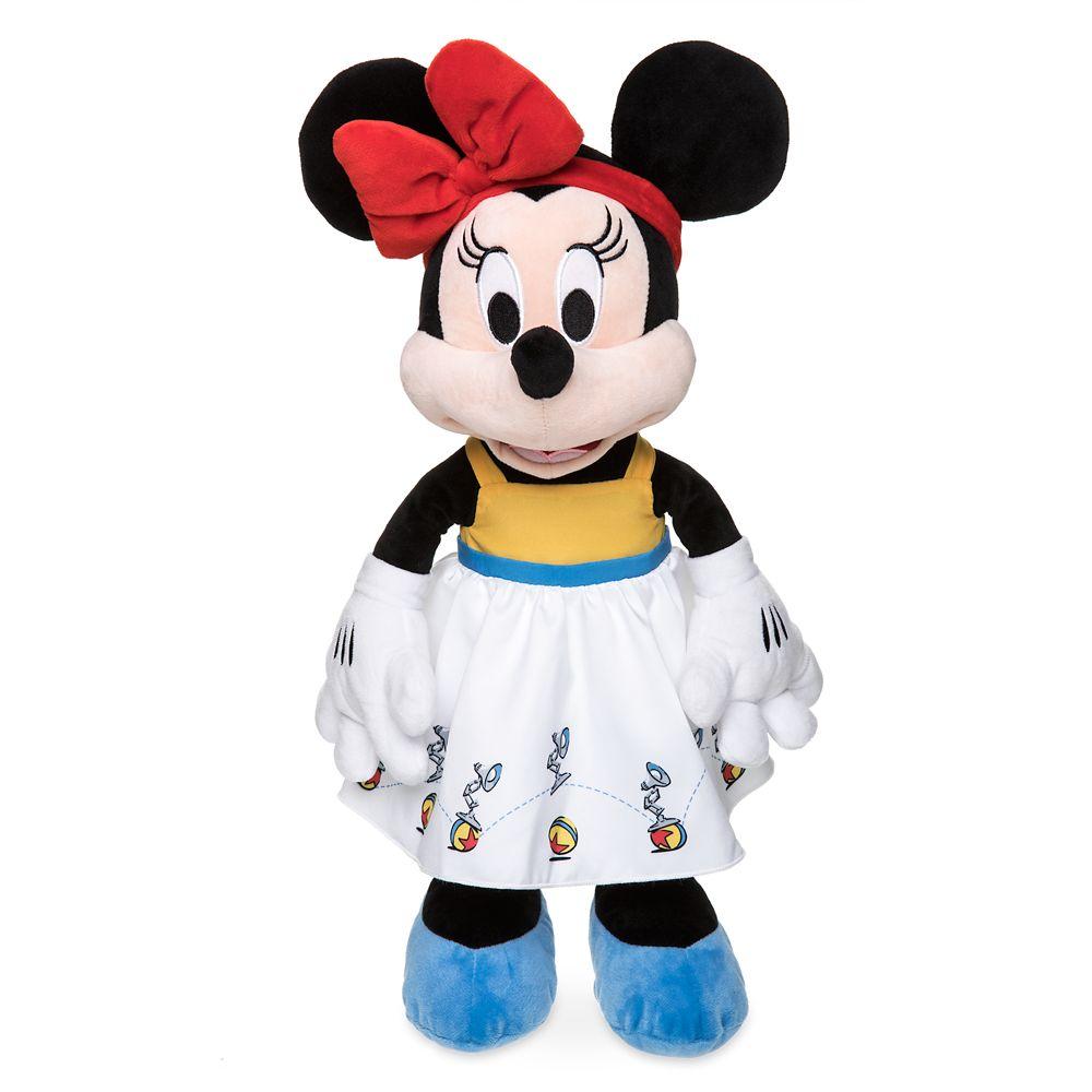 Minnie Mouse Plush in Pixar Dress – Medium – 17''