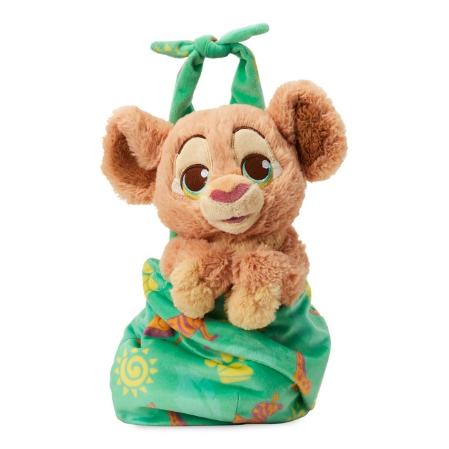 Disney Babies Nala Plush Doll in Pouch – The Lion King – Small – 11''