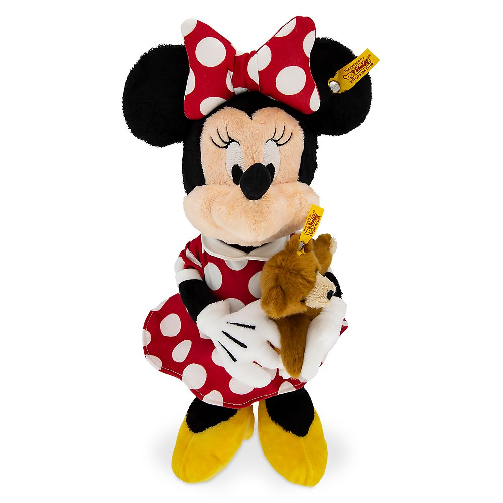 Minnie Mouse with Teddy Bear Plush by Steiff – 12''