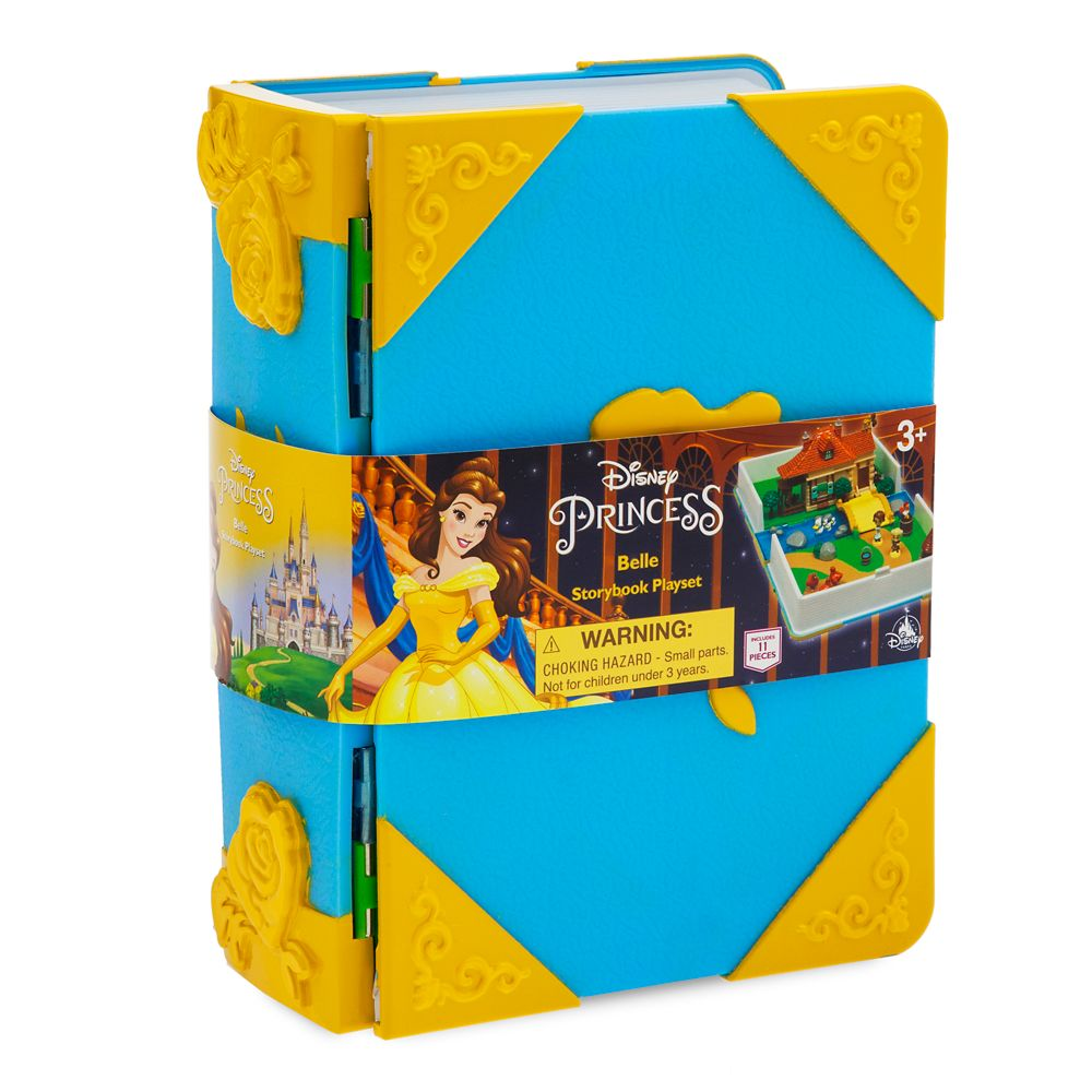 Belle Disney Princess Storybook Playset
