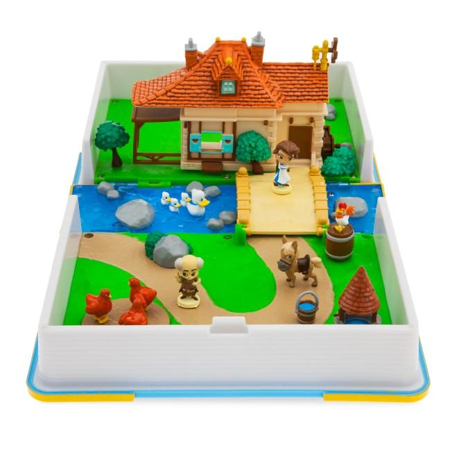 Belle Disney Princess Storybook Playset