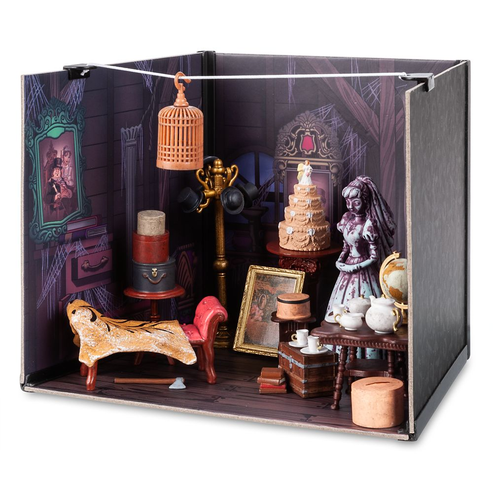 The Haunted Mansion Attic Diorama Kit