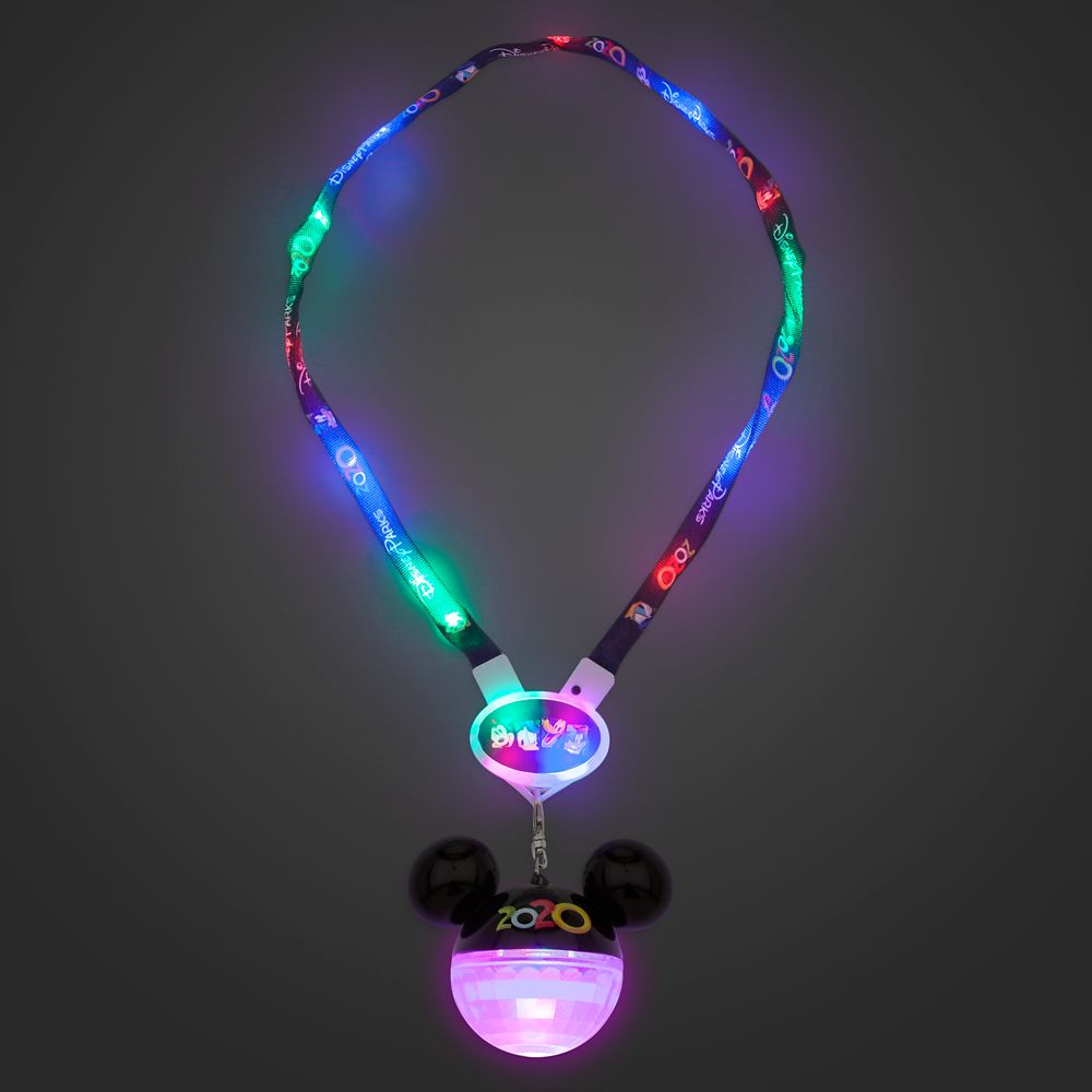 Mickey Mouse and Friends Light-Up Lanyard – Disney Parks 2020