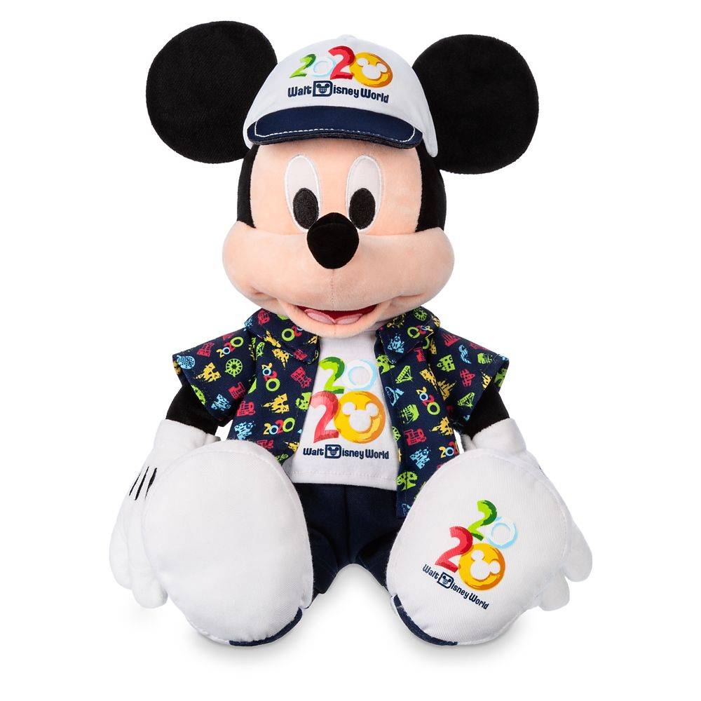 Mickey Mouse Plush – Walt Disney World 2020 – Medium – 16''