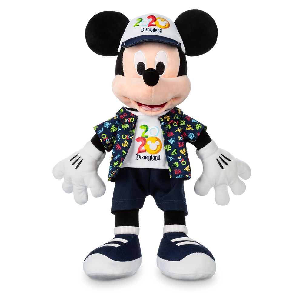 Mickey Mouse Plush – Disneyland 2020 – Medium – 16''