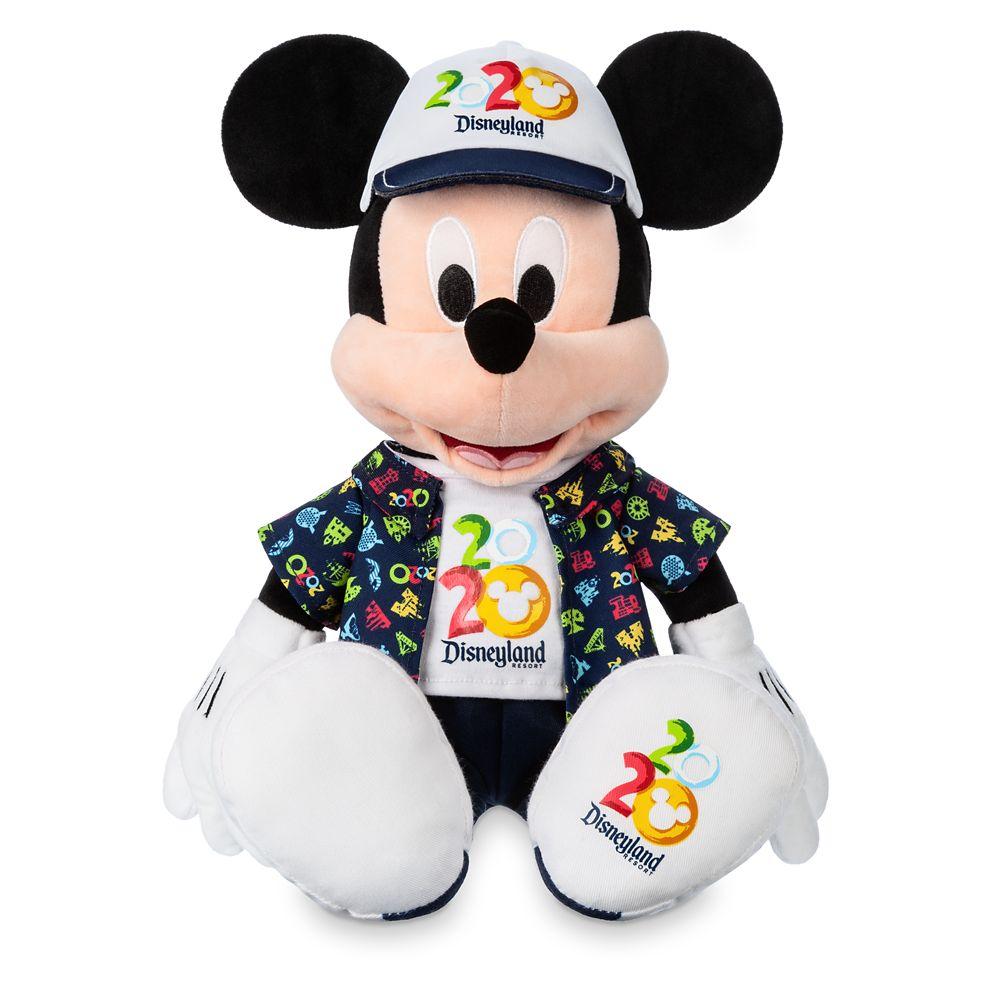 Mickey Mouse Plush – Disneyland 2020 – Medium – 16''