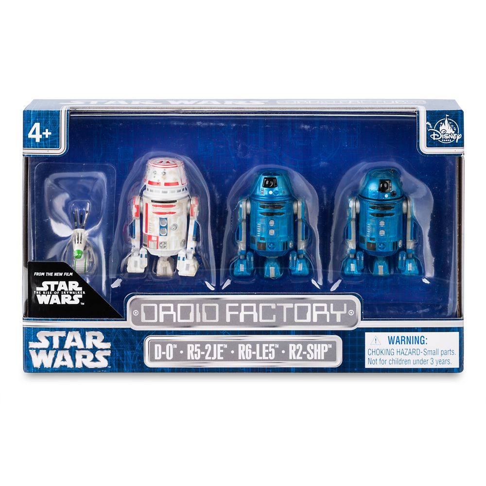 Star Wars: The Rise of Skywalker Droid Factory Figure Set