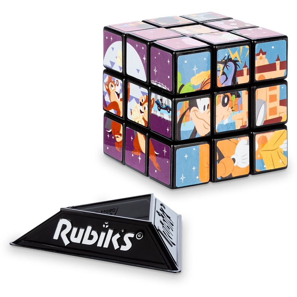 Mickey Mouse and Friends Rubik's Cube Puzzle – Disney Theme Park Edition